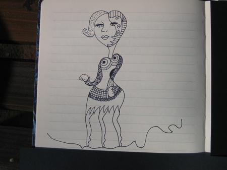 a kopasz énekesnő hobó-dala